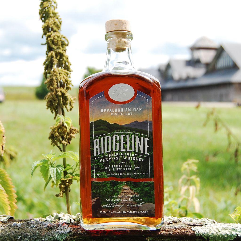 Spirits Appalachian Gap Distillery Ridgeline Vermont Whiskey