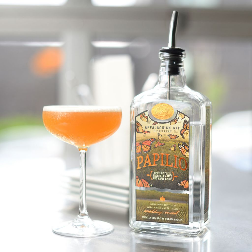 Spirits Appalachian Gap Distillery Papilio Agave-Maple Spirit Vermont
