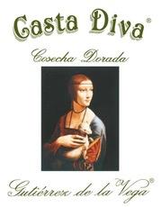 Wine Bodegas Gutierrez de la Vega 'Casta Diva Cosecha Dorada'  Moscatel Seco 2015