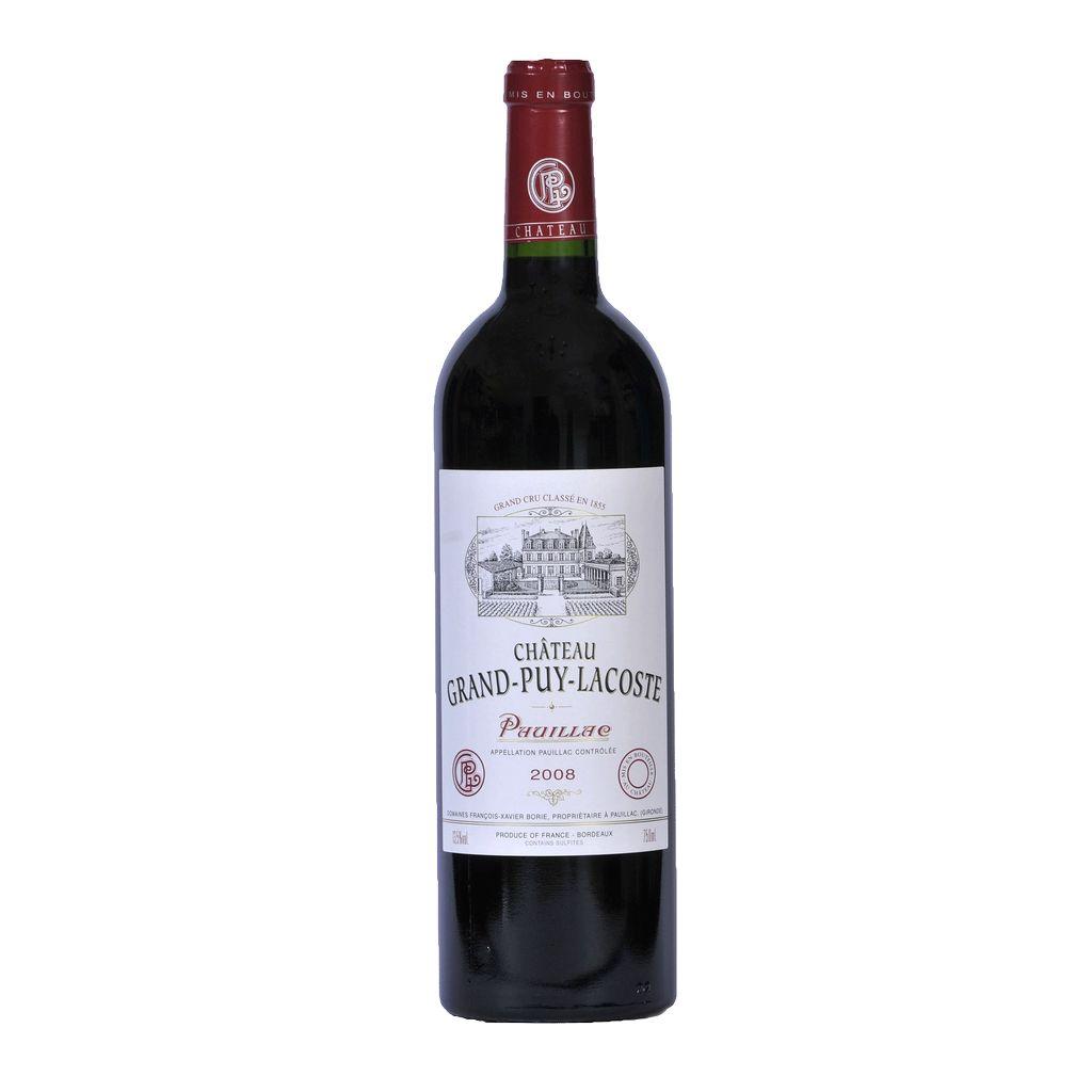 Wine Ch. Grand Puy Lacoste 2008