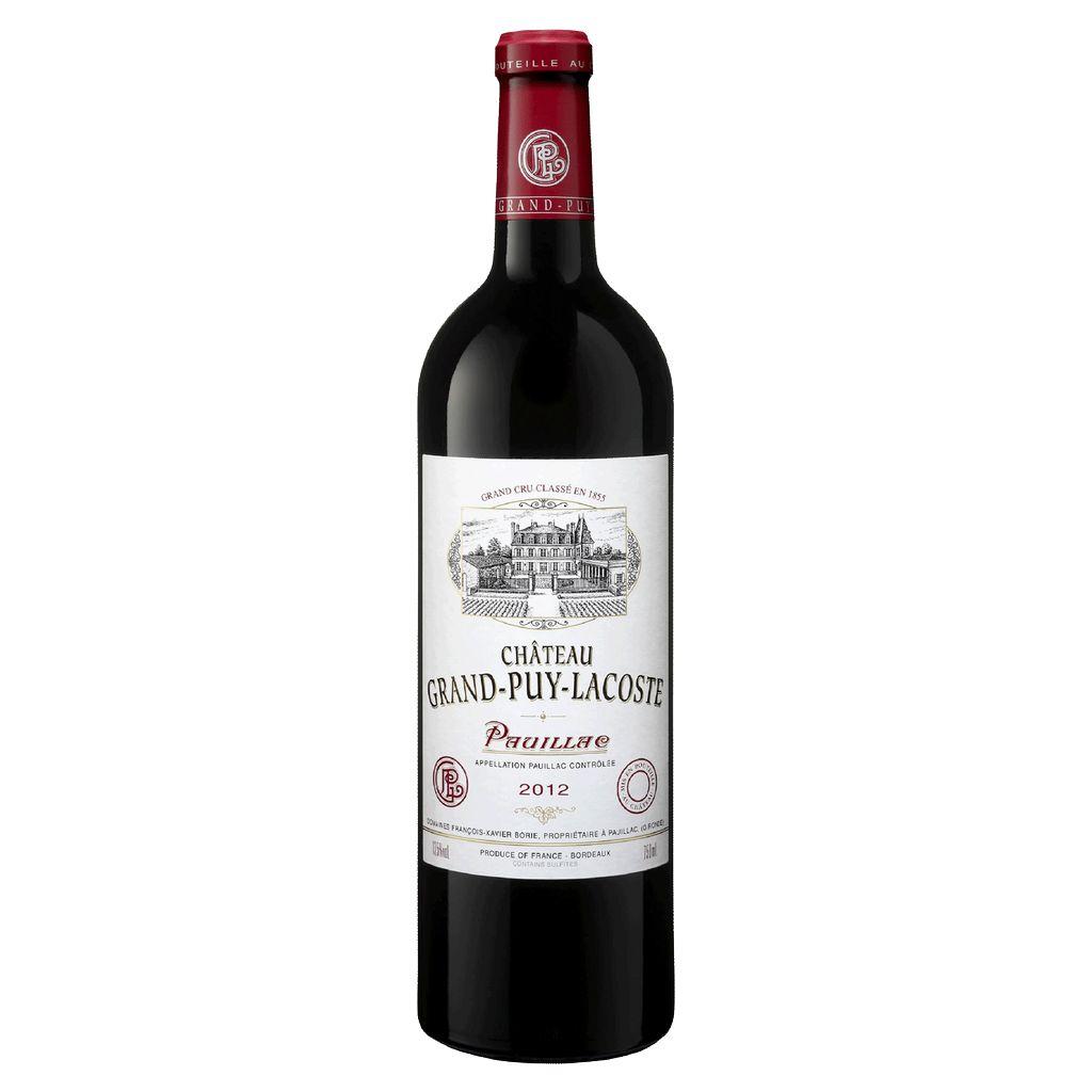 Wine Ch. Grand Puy Lacoste 2012