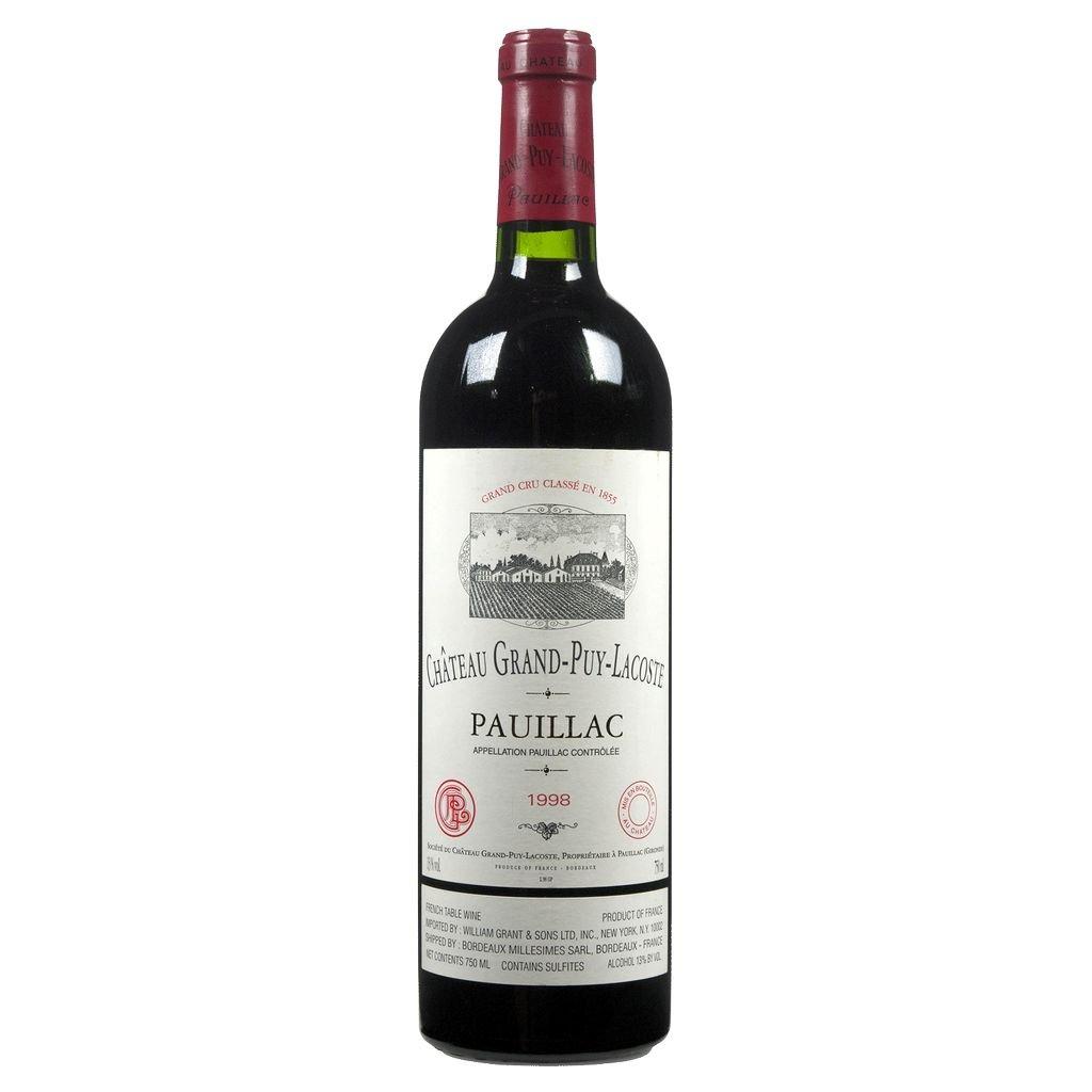 Wine Ch. Grand Puy Lacoste 1998