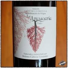Wine Dolores Cabrera La Araucaria Tinto 2016