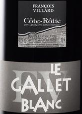 Wine Domaine Francois Villard Cote Rotie le Gallet Blanc 2016