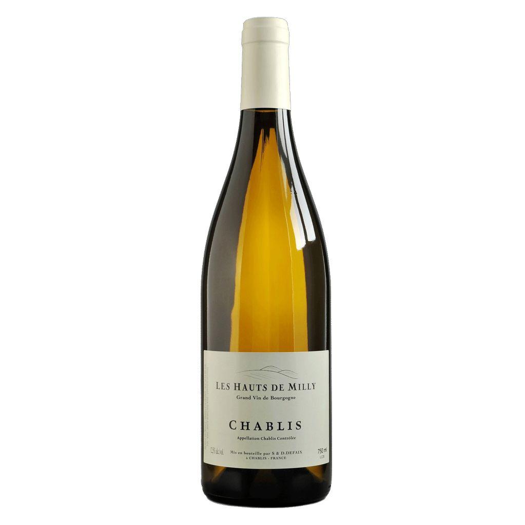 Wine Les Hauts de Milly Chablis 2017