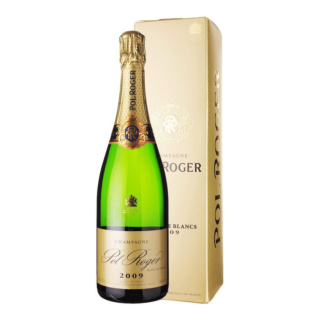 Sparkling Pol Roger Champagne Blanc de Blancs 2009