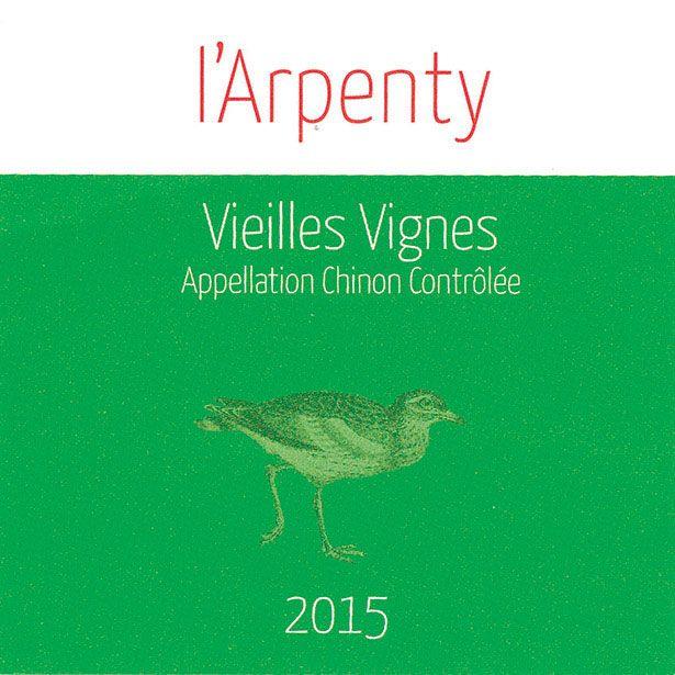 Wine L'Arpenty Chinon Vieilles VIgnes 2015