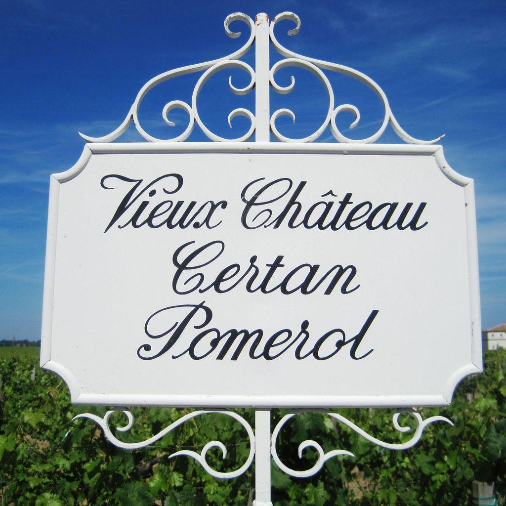 Wine Vieux Chateau Certan 2010