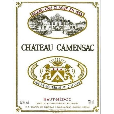 Wine Chateau Camensac 1990