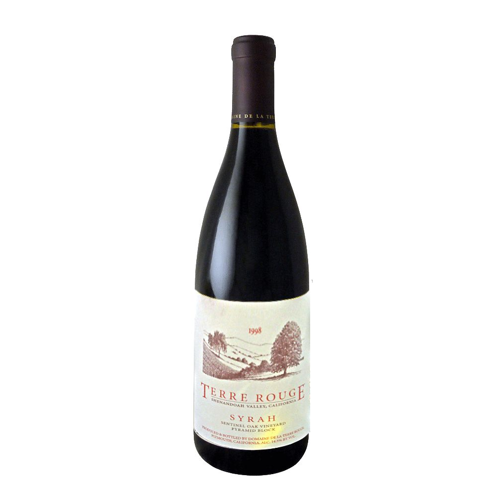 Wine Terre Rouge Syrah 'Sentinel Oak Vineyard - Pyramid Block' 1998