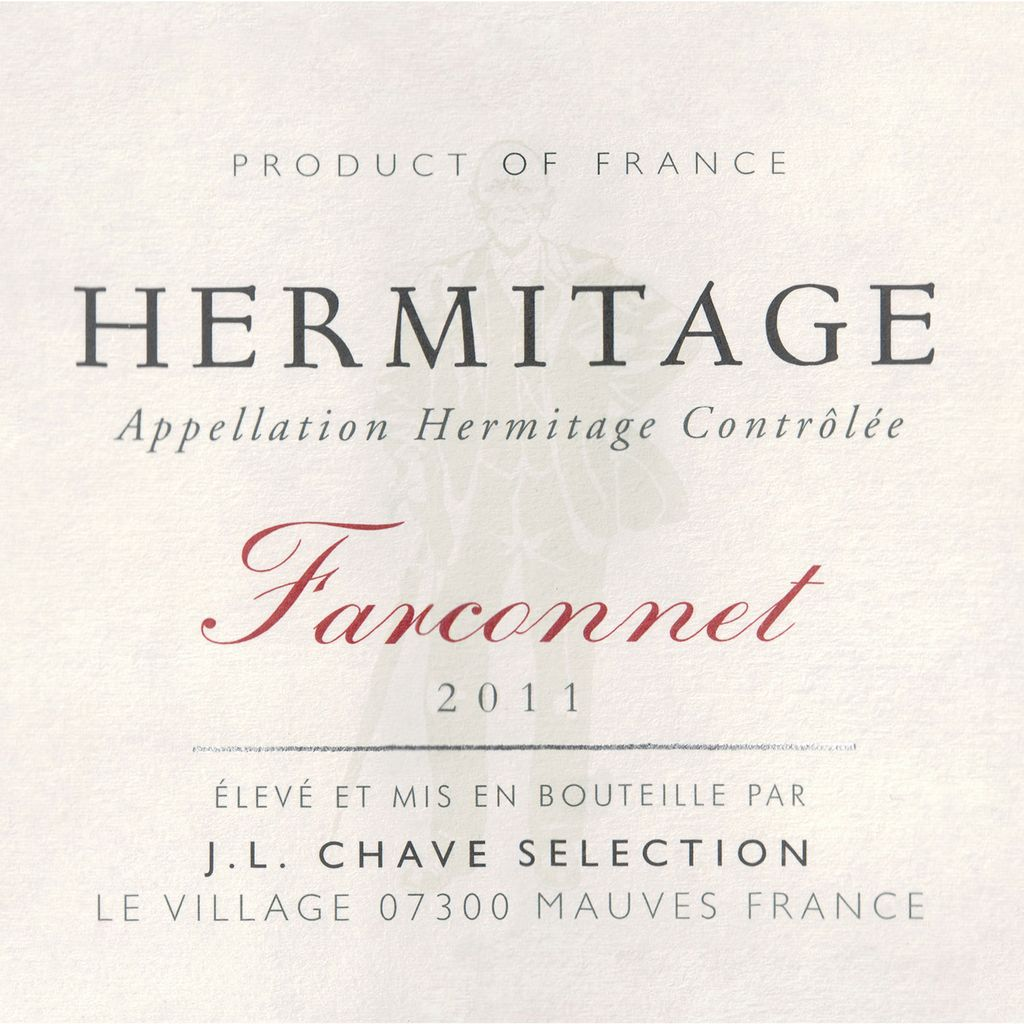 Wine JL Chave Selection Hermitage Farconnet 2012