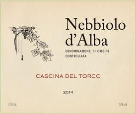 Wine Cascina del Torcc Nebbiolo d'Alba 2015