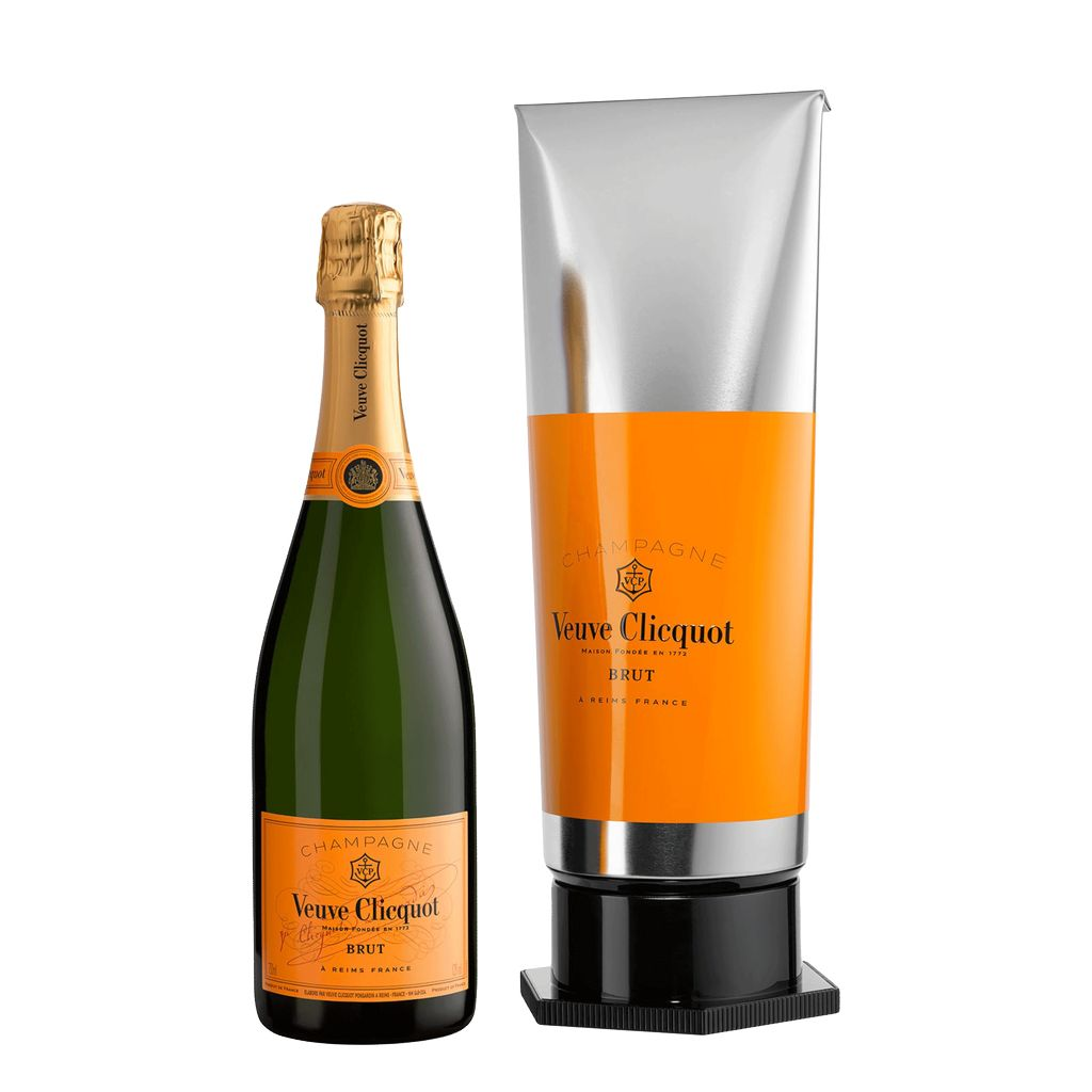 Sparkling Veuve Clicquot Champagne Brut Yellow Label Gift