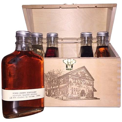 Spirits Kings County Distillery Gift Box Set 5 x 200ml