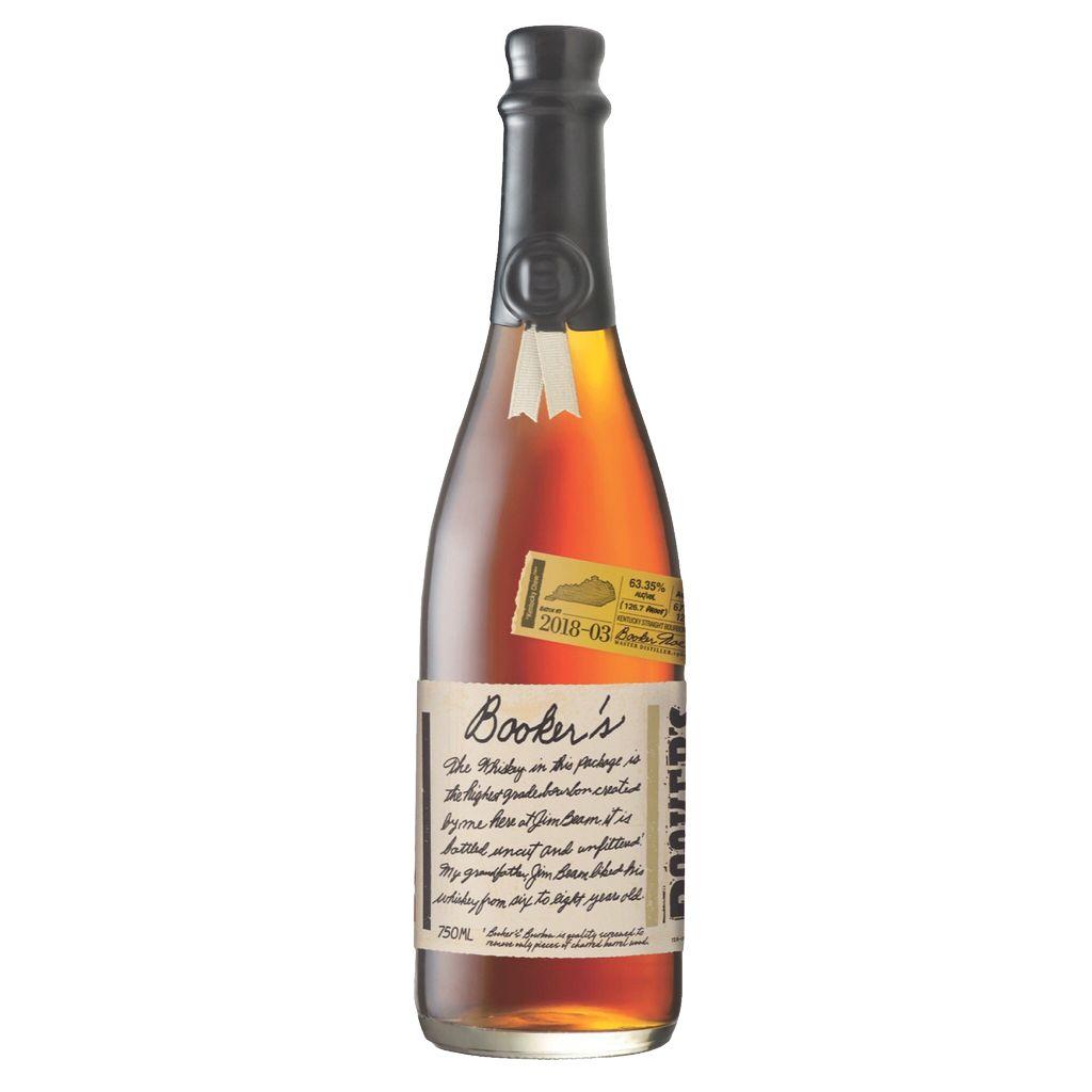 Spirits Bookers Noe Bourbon 2018-3 126.7°