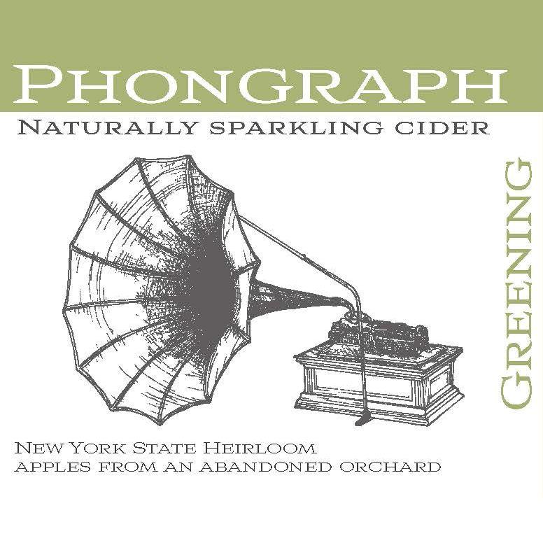 Sparkling Phonograph Greening Cider