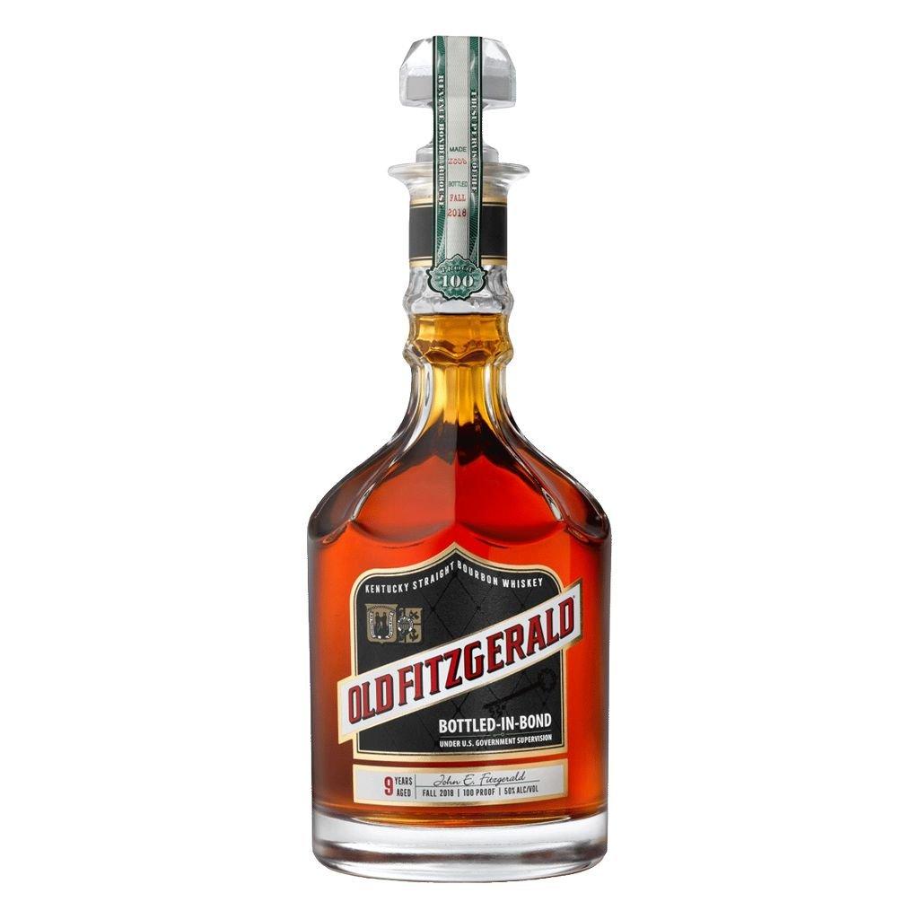 Spirits Old Fitzgerald Bottled-in-Bond 9 Years Kentucky Bourbon 100 Proof Fall 2018