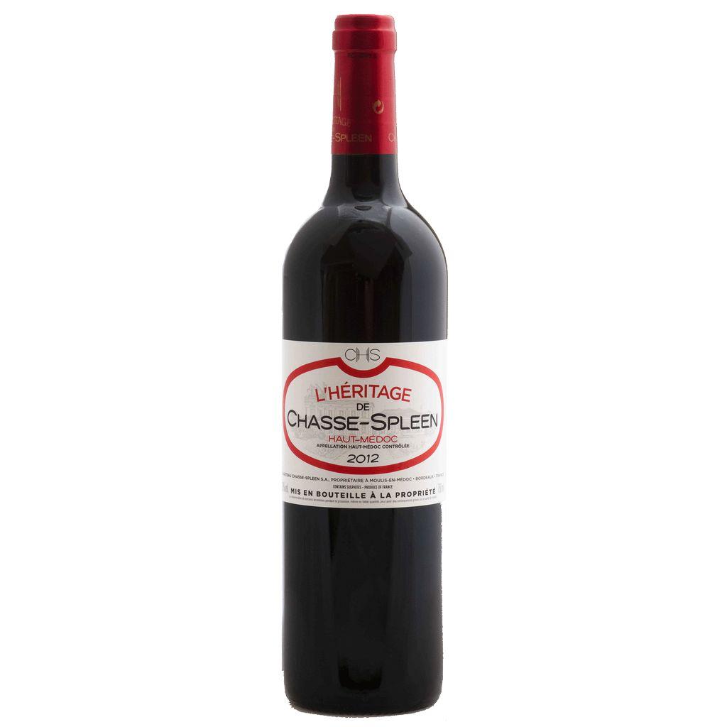Wine Chateau Chasse Spleen L'Heritage de Chasse Spleen 2015