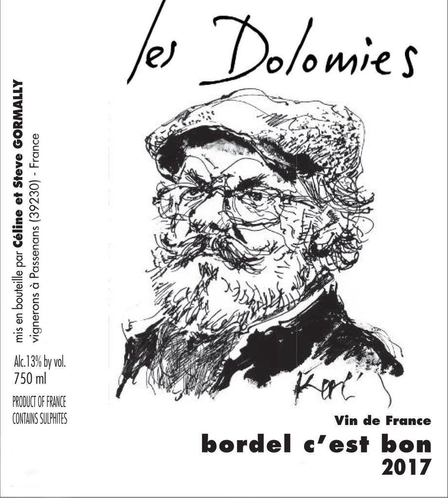 Wine Les Dolomies 'Bordel C'est Bon' Rouge 2017