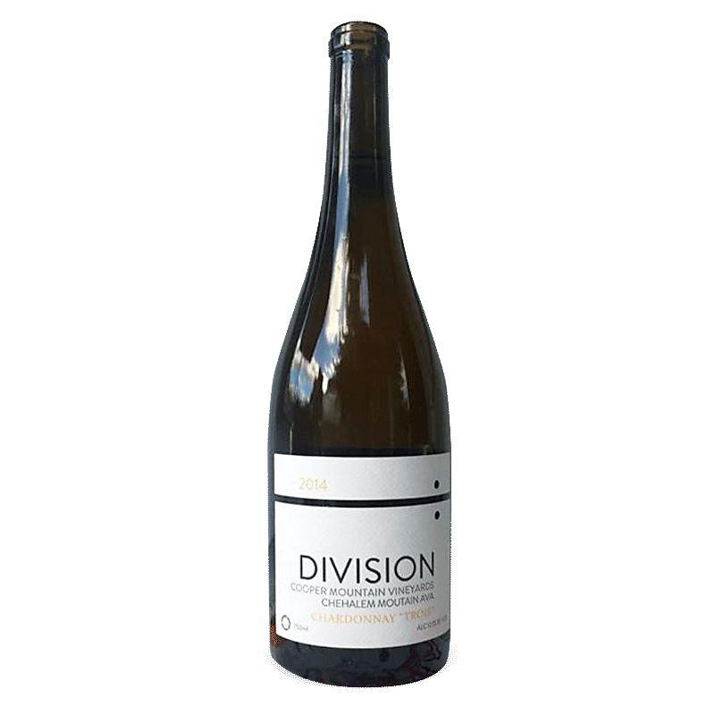Wine Division Winemaking Company Chehalem Mountains Chardonnay Trois 2016