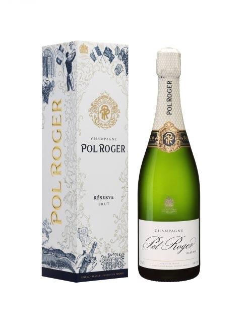 Sparkling Pol Roger Brut Champagne 375ml Giftbox