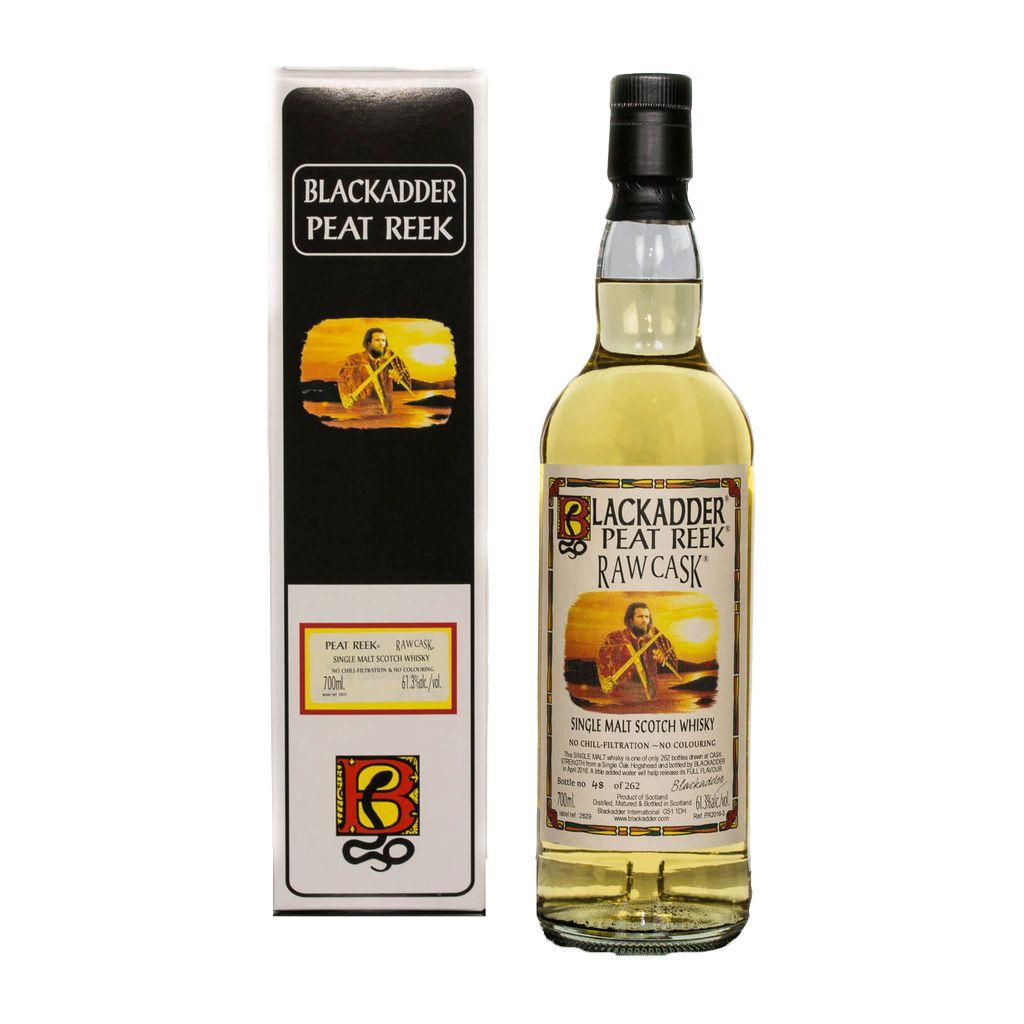 Spirits Blackadder Raw Cask Peat Reek Single Malt Scotch 120 Proof