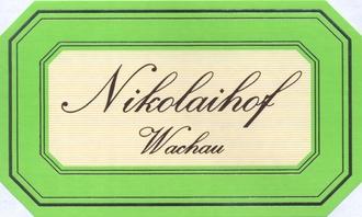 Wine Nikolaihof Wachau Gruner Veltliner Hefeabzug 2017