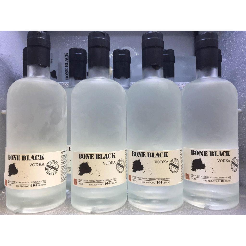 Spirits Bone Black 104 Proof Vodka 750ml