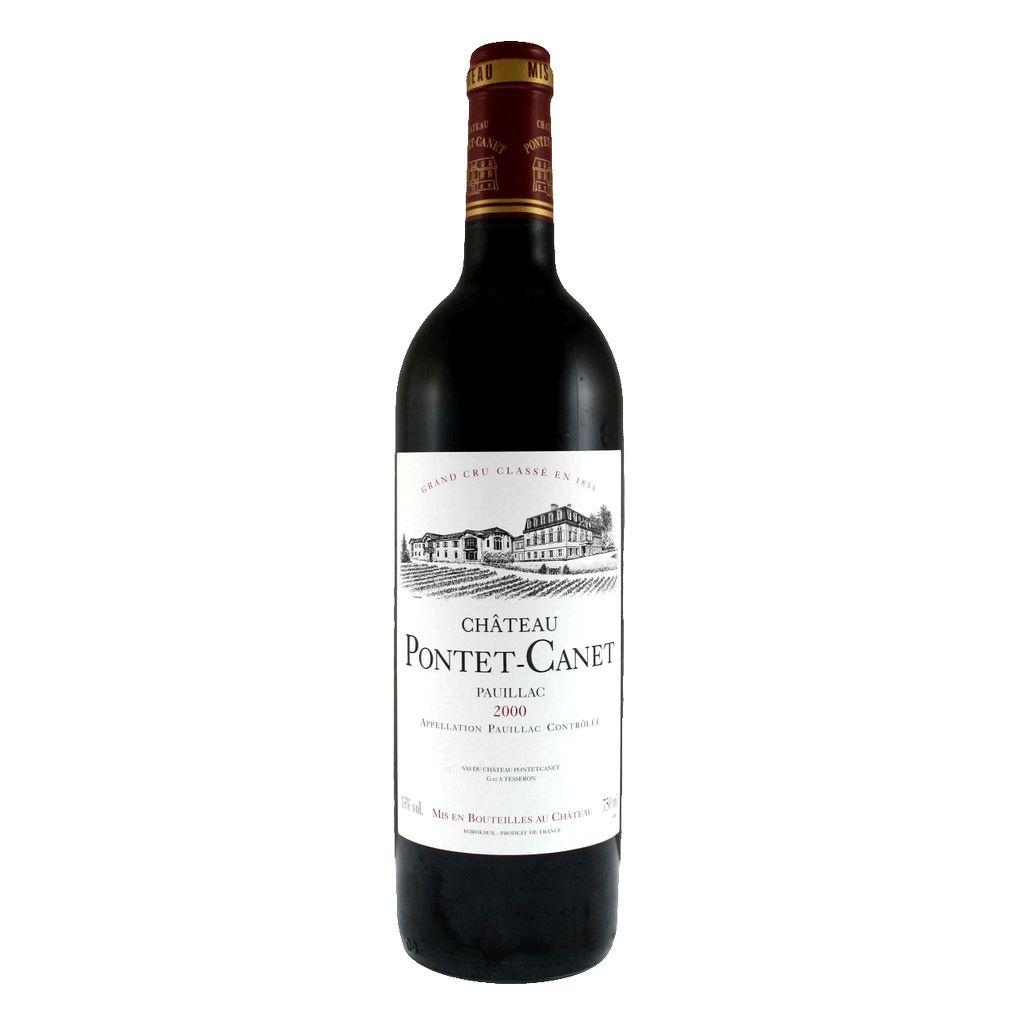 Wine Chateau Pontet Canet 2000