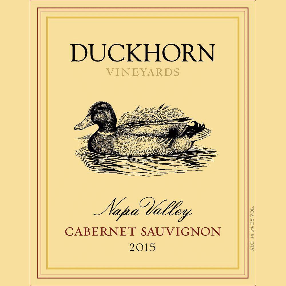 Wine Duckhorn Cabernet Sauvignon Napa Valley 2015