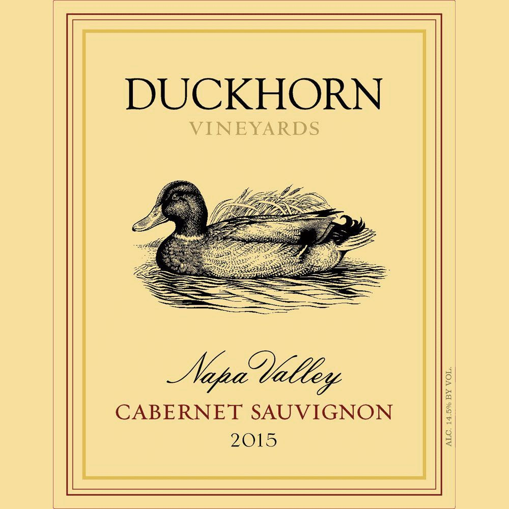 Wine Duckhorn Cabernet Sauvignon Napa Valley 2016