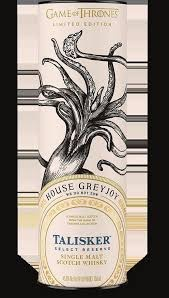 Wine Talisker, Game Of Thrones House Greyjoy Select Reserve Scotch Whisky