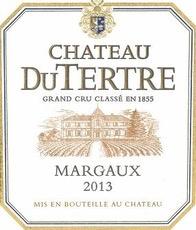 Wine Ch. du Tertre 2013
