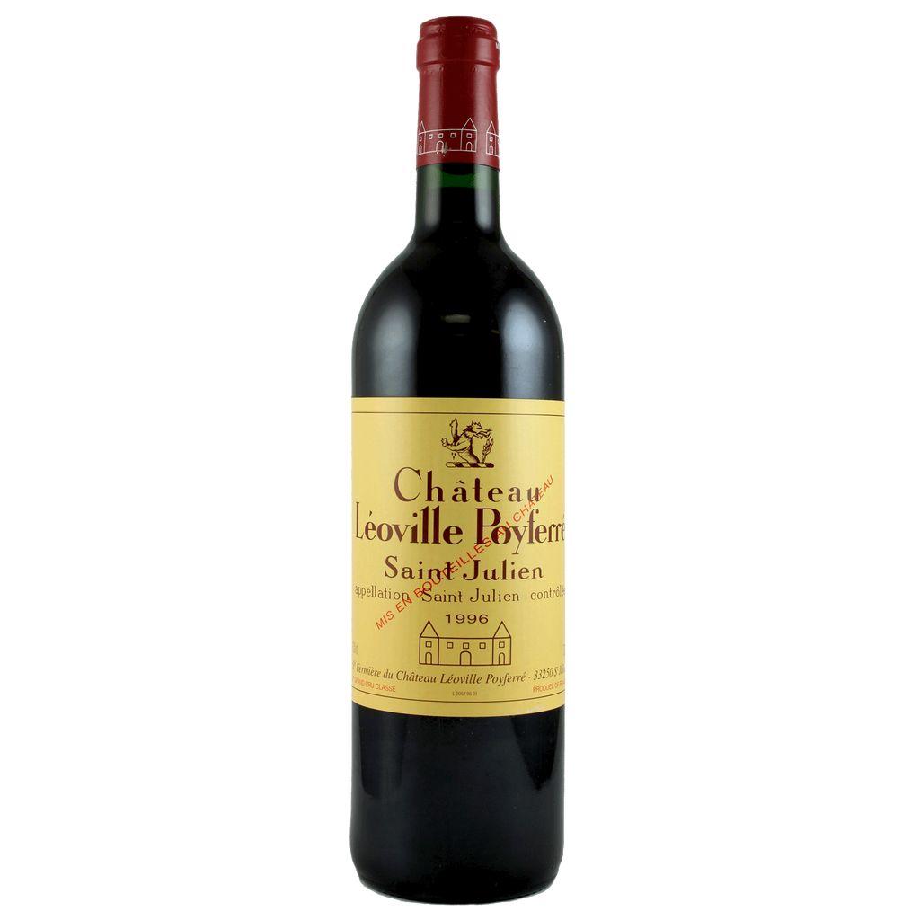 Wine Ch. Leoville Poyferre 1996