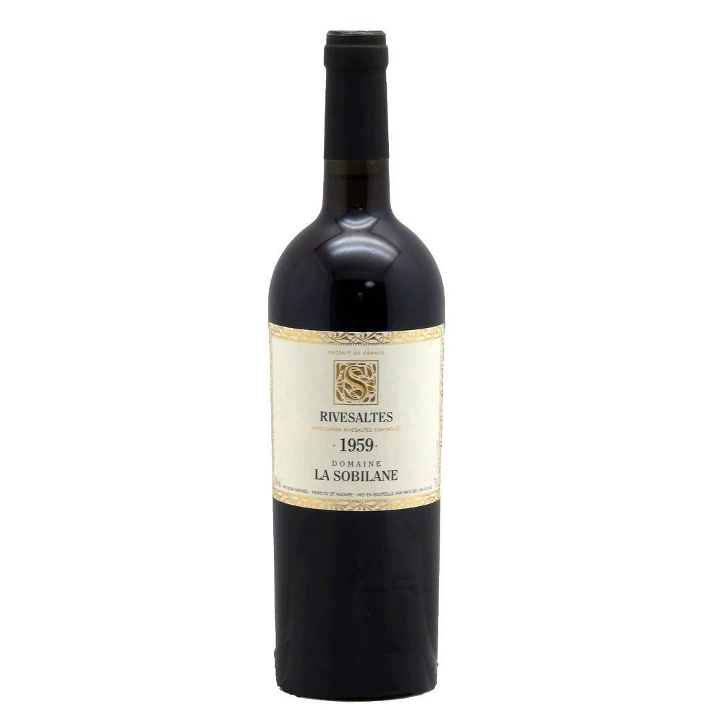 Wine Domaine La Sobilane Rivesaltes 1959