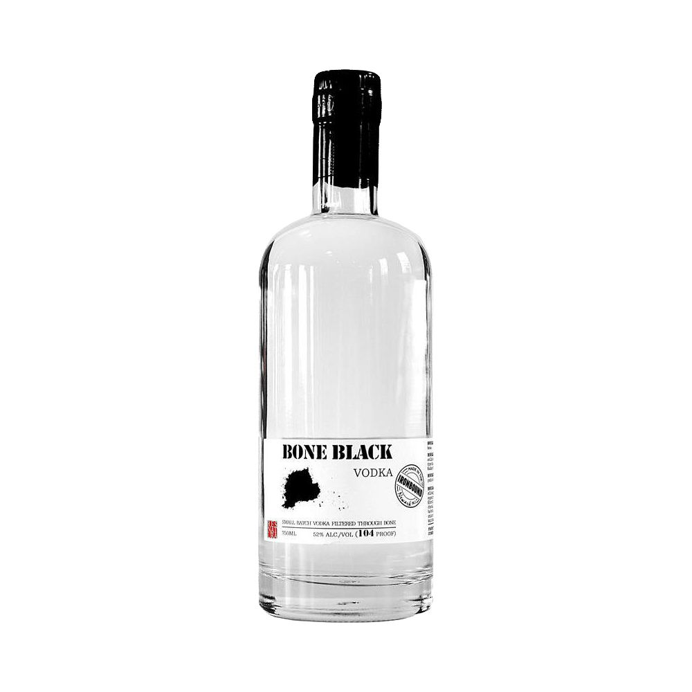 Spirits Bone Black Vodka 80 proof 375ml