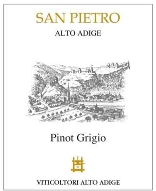 Wine San Pietro Pinot Grigio Alto Adige 2017