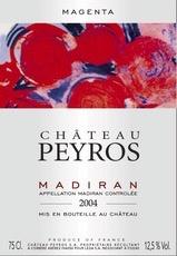 Wine Chateau Peyros Madiran Magenta 2011