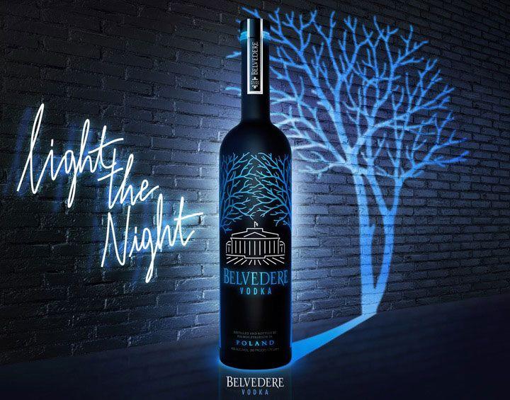 Spirits Belvedere, Midnight Saber Vodka 1L