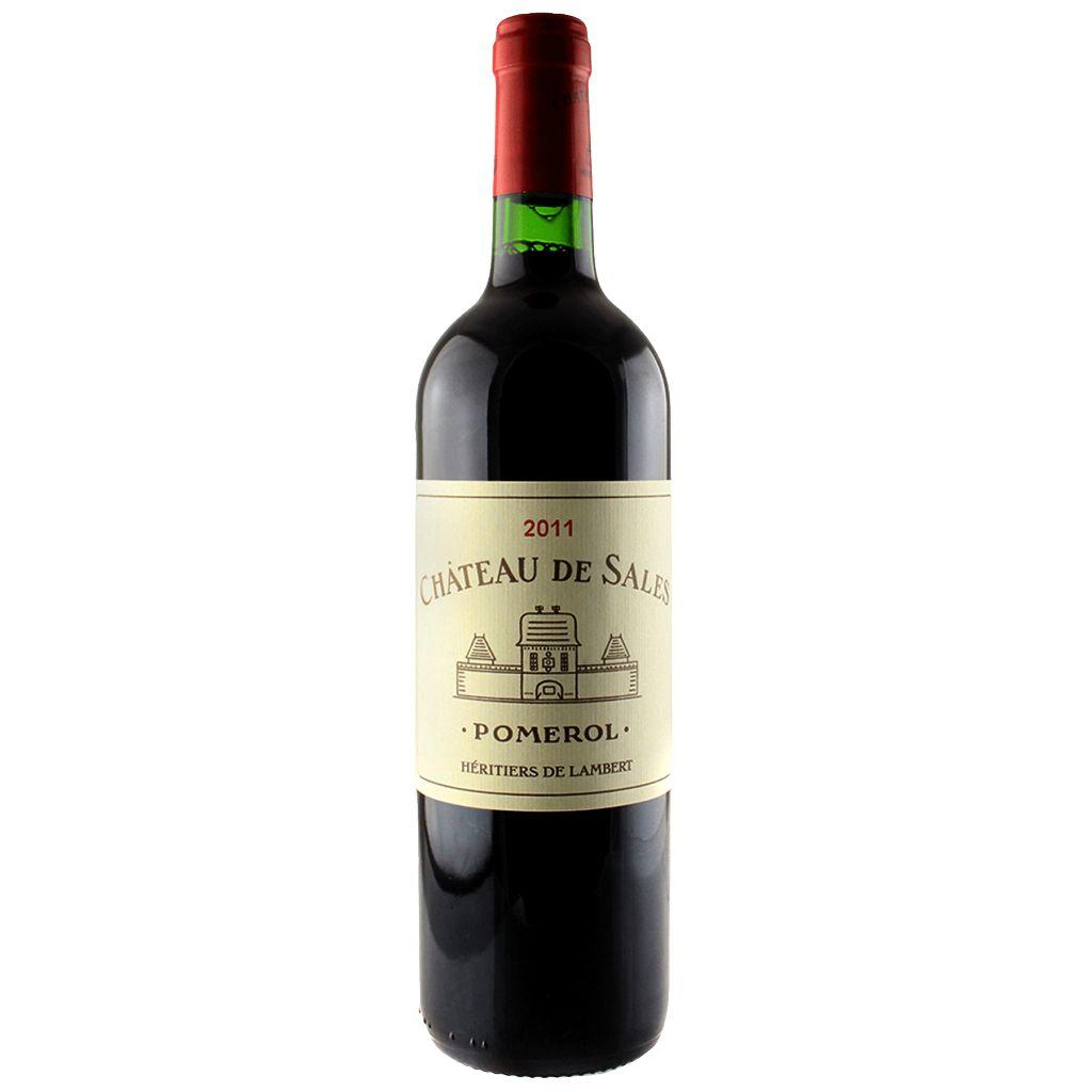Wine Ch. de Sales Pomerol 2011