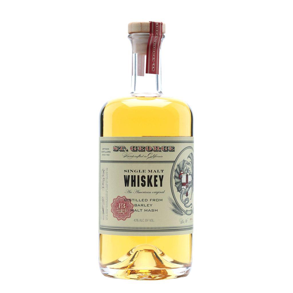 Spirits St George Single Malt Whiskey Lot 18