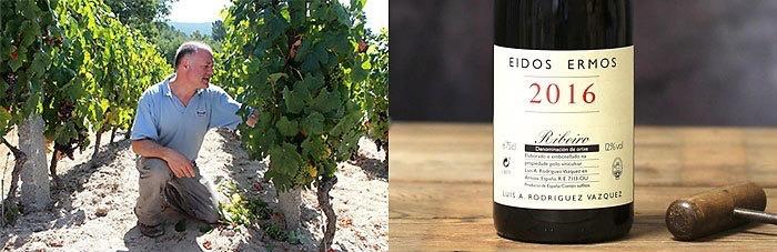 Wine Luis Rodriguez Eidos Ermos 2015/2016