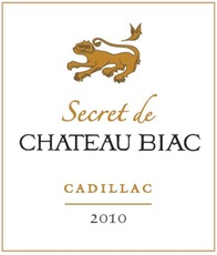 Wine Chateau Biac Secret de Chateau Biac Cadillac 2010 500ml