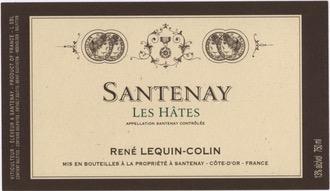 Wine Rene Lequin-Colin Santenay Les Hates 2014