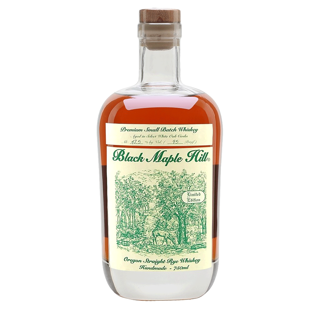 Spirits Black Maple Hill Limited Edition Oregon Straight Rye Whiskey