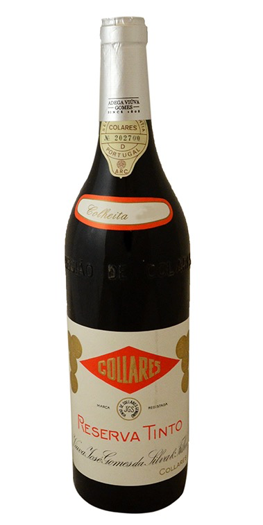 Wine Adega Viuva Gomes Colares Ramisco 1969