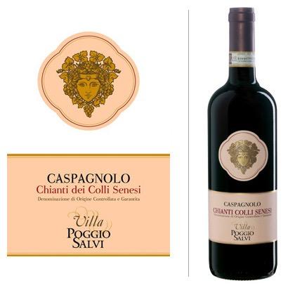 Wine Villa Poggio Salvi Caspagnolo Chianti dei Colli Senesi 2005