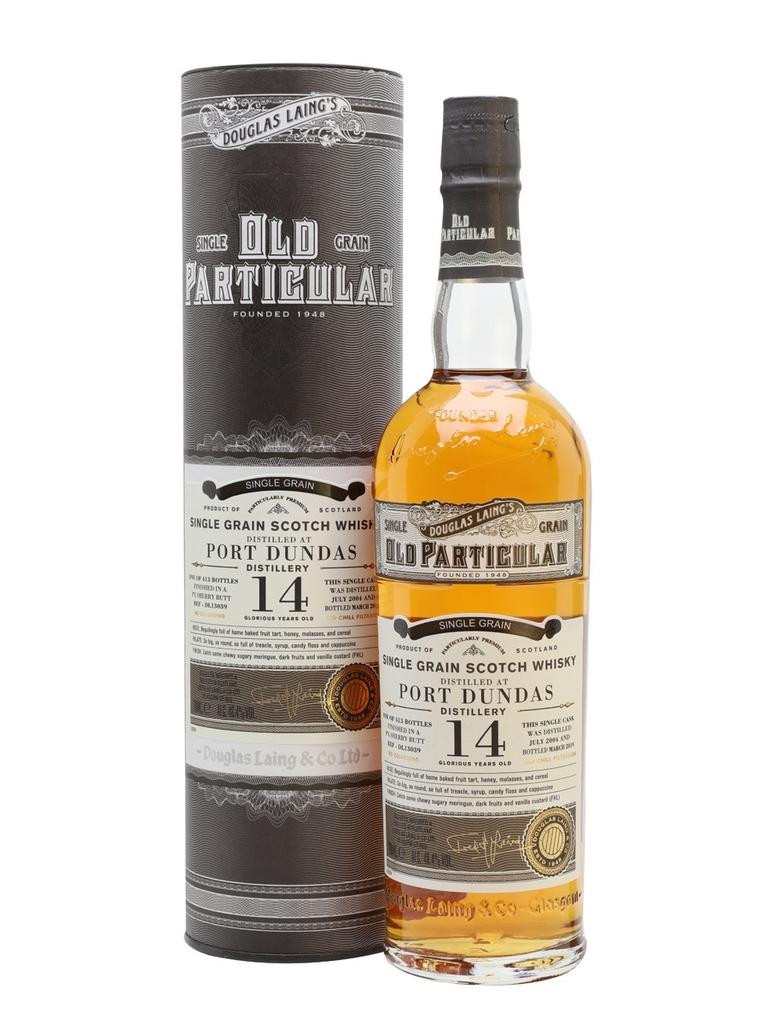 Spirits Douglas Laing & Co Old Particular Port Dundas 14 Year Old Scotch