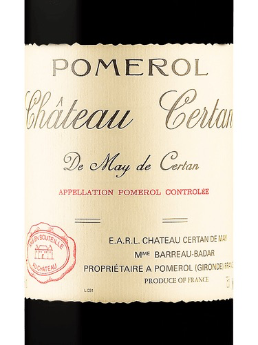 Wine Chateau Certan de May Pomerol 1993