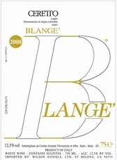 Wine Ceretto Langhe Arneis Blange 2017